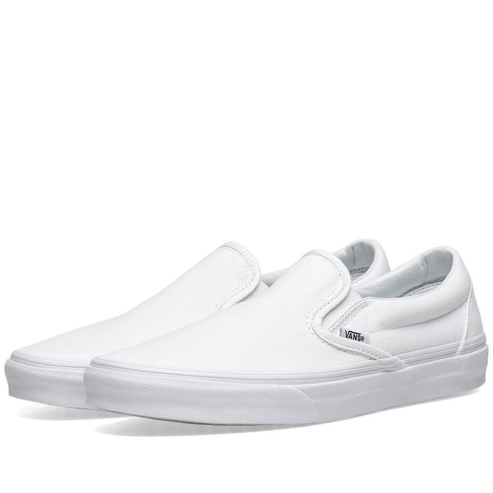 Photo: Vans UA Classic Slip On True White