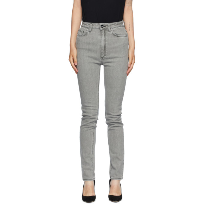 Photo: Toteme Grey New Standard Jeans