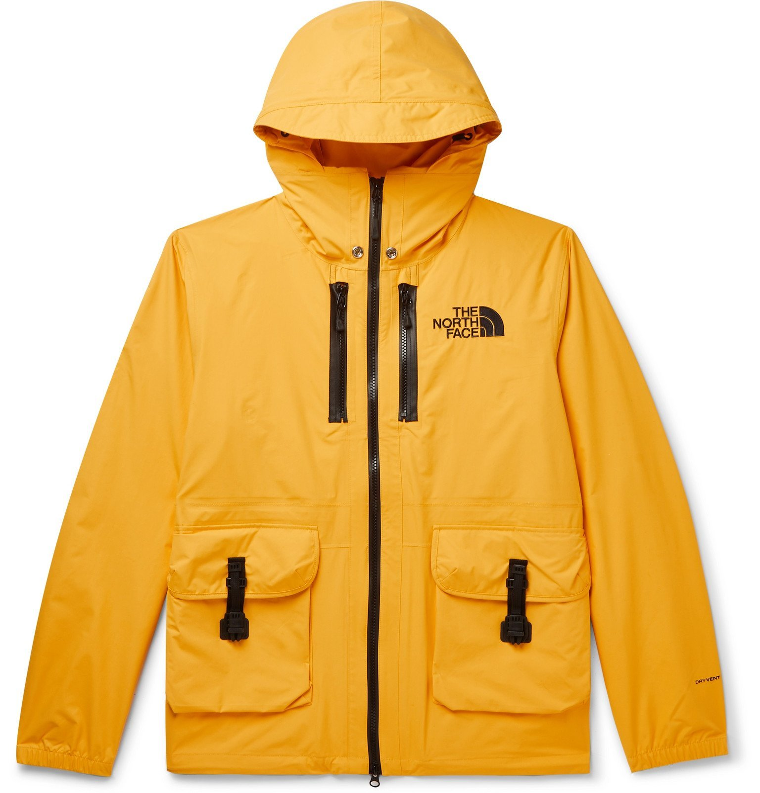 Photo: The North Face - Black Series DryVent Hooded Jacket - Yellow