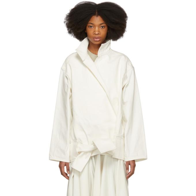 Photo: Lemaire Off-White Vareuse Jacket
