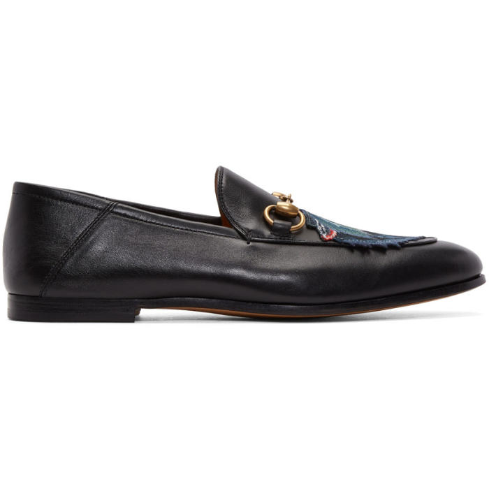 Photo: Gucci Black Wolf Brixton Loafers