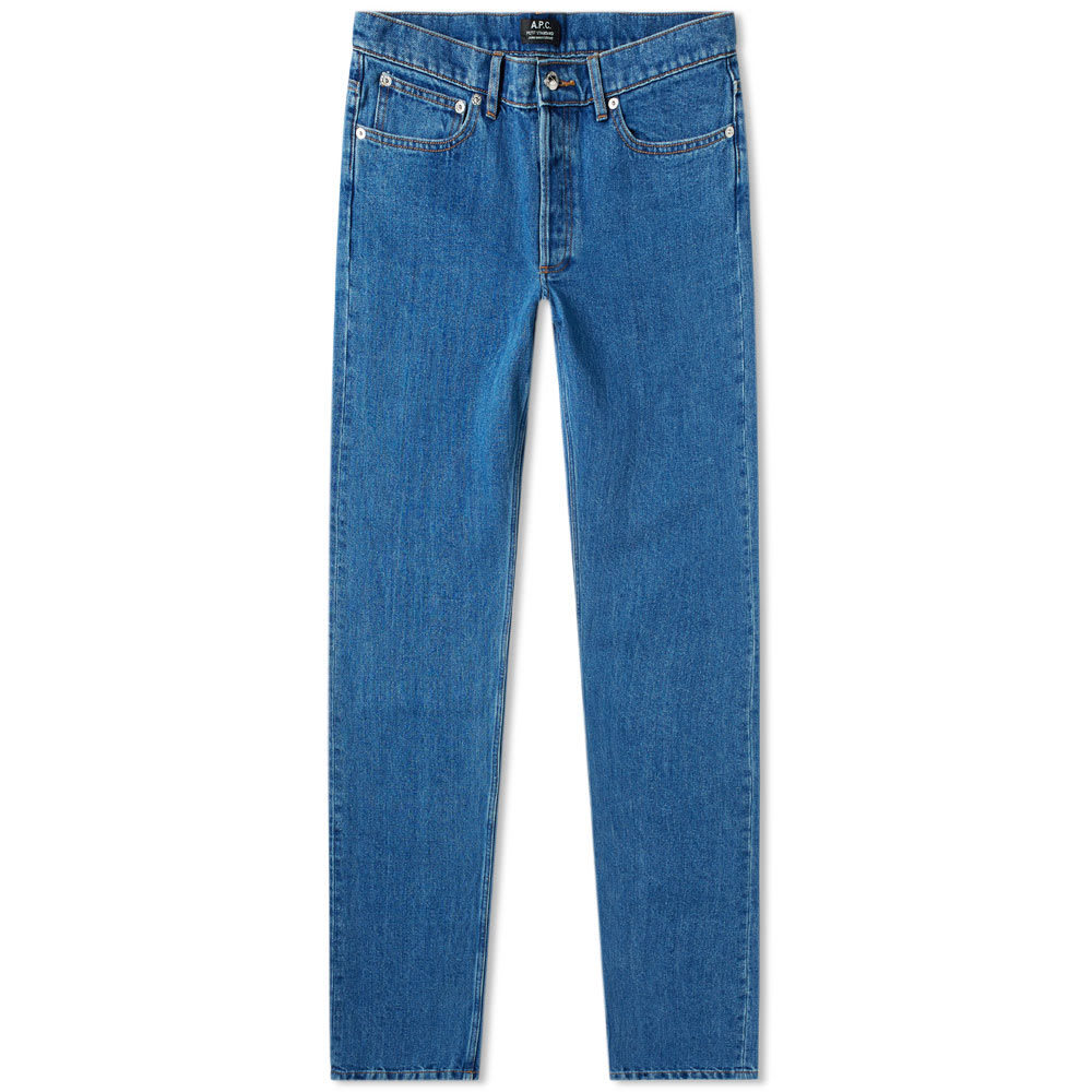 Photo: A.P.C. Petit Standard Jean Washed Indigo