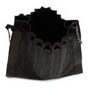 3.1 Phillip Lim Black Large Pleated Florence Bag