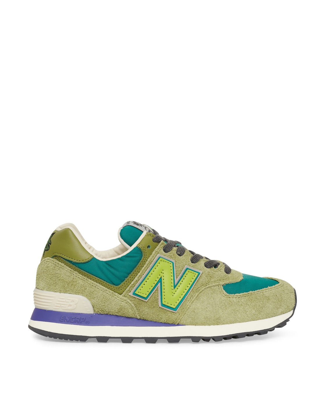 Photo: New Balance Stray Rats 574 Sneakers Green