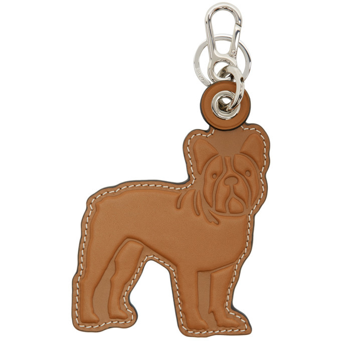 Photo: Loewe Tan Bull Dog Keychain