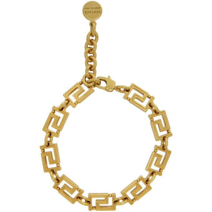 Versace Gold Greta Empire Bracelet
