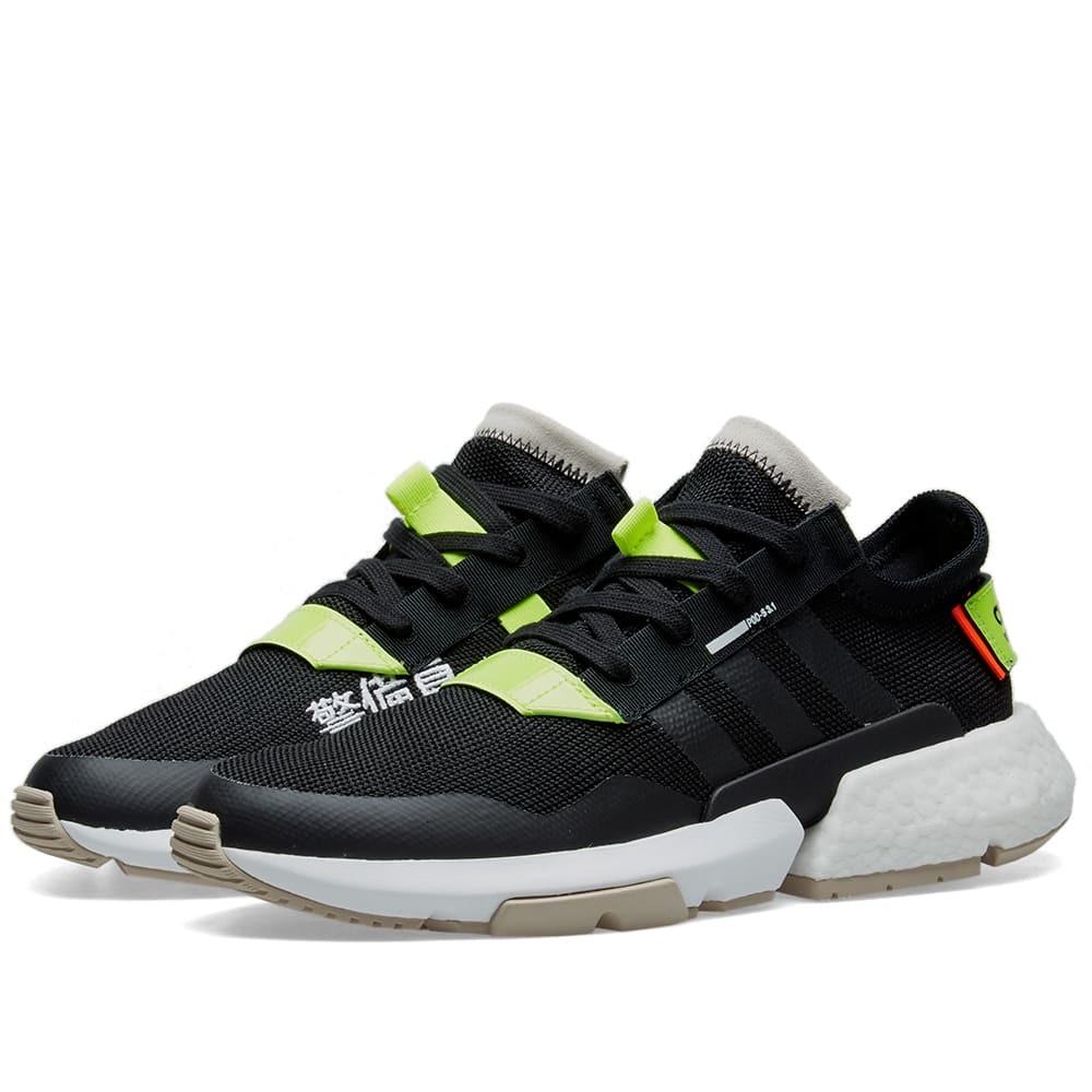 Adidas Energy POD-S3.1 Core Black, Yellow & White