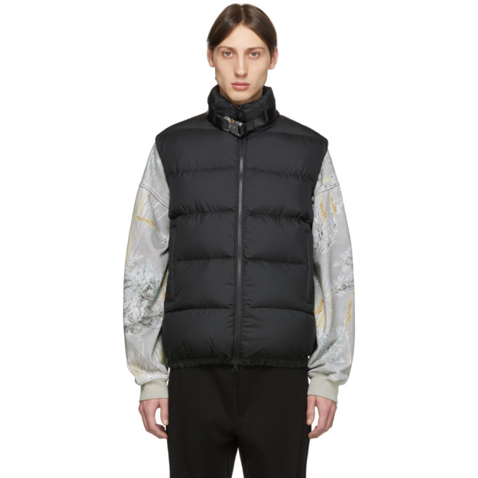 Photo: 1017 ALYX 9SM Black Buckle Puffer Vest