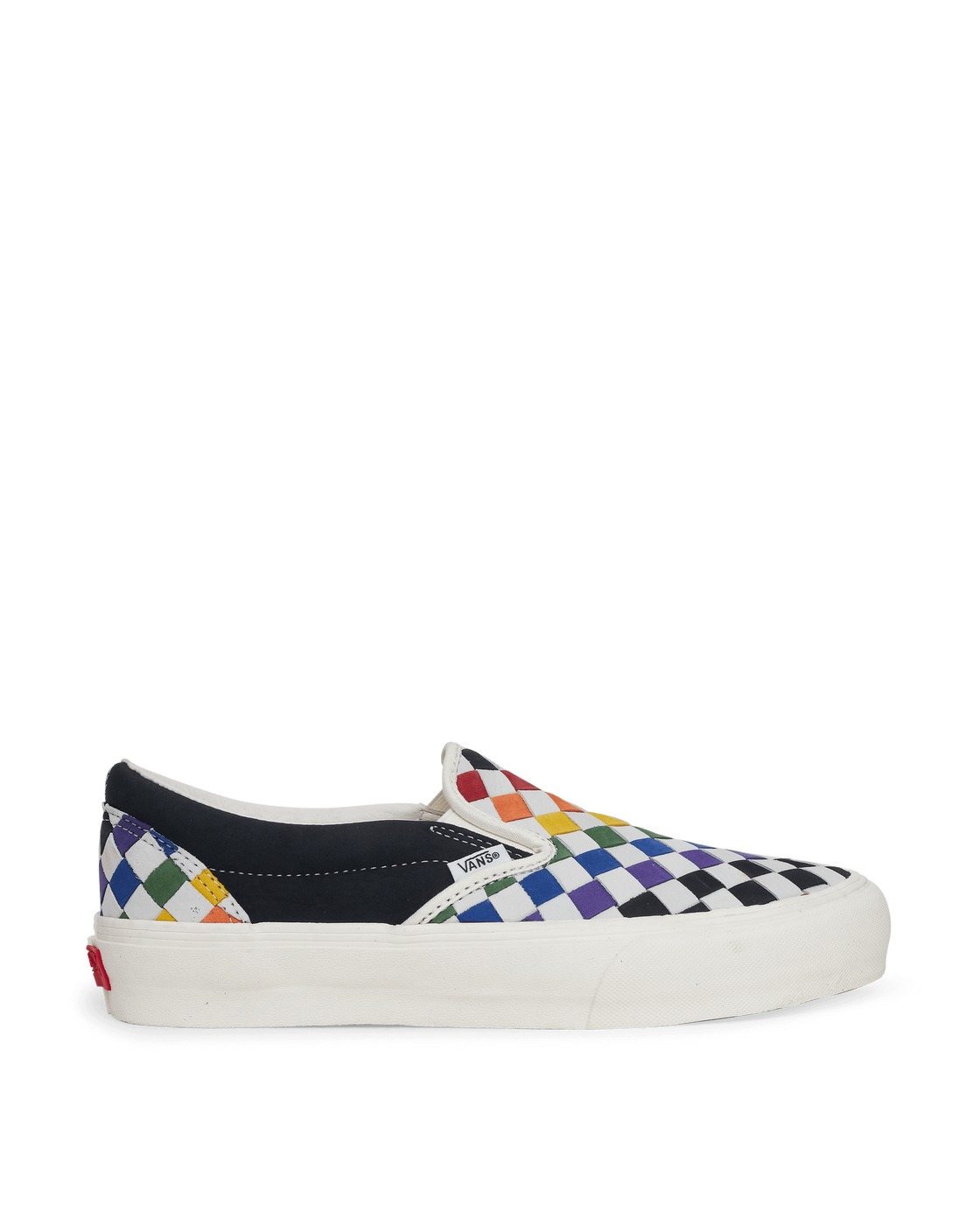 Photo: Vans Pride Classic Slip On Lx Sneakers Wovnlthrrnbwmshmlw