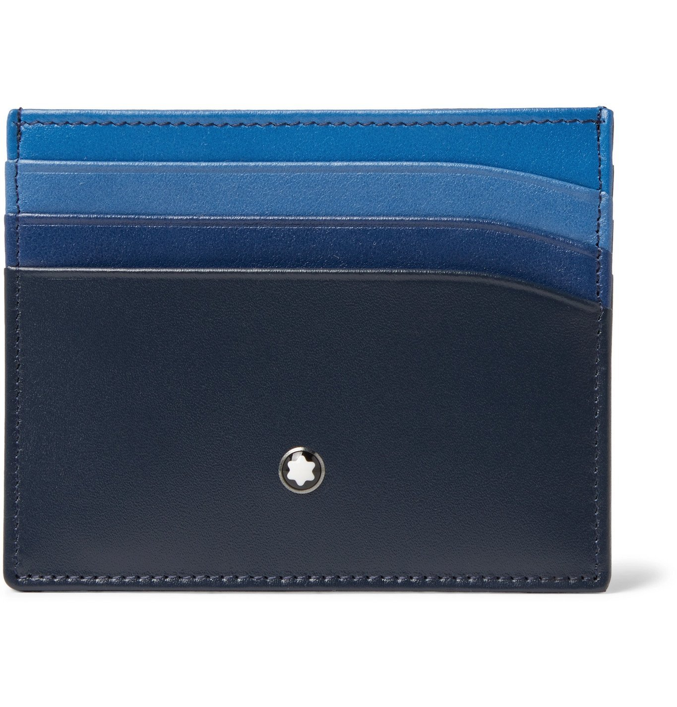 Photo: Montblanc - Meisterstück Dégradé Leather Cardholder - Blue