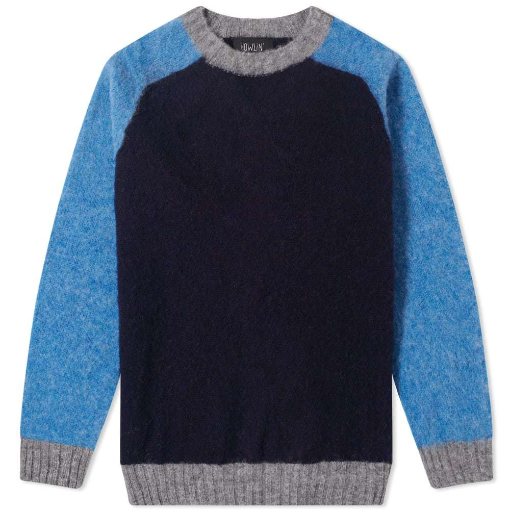 Photo: Howlin' Megatron Man Colour Block Crew Knit