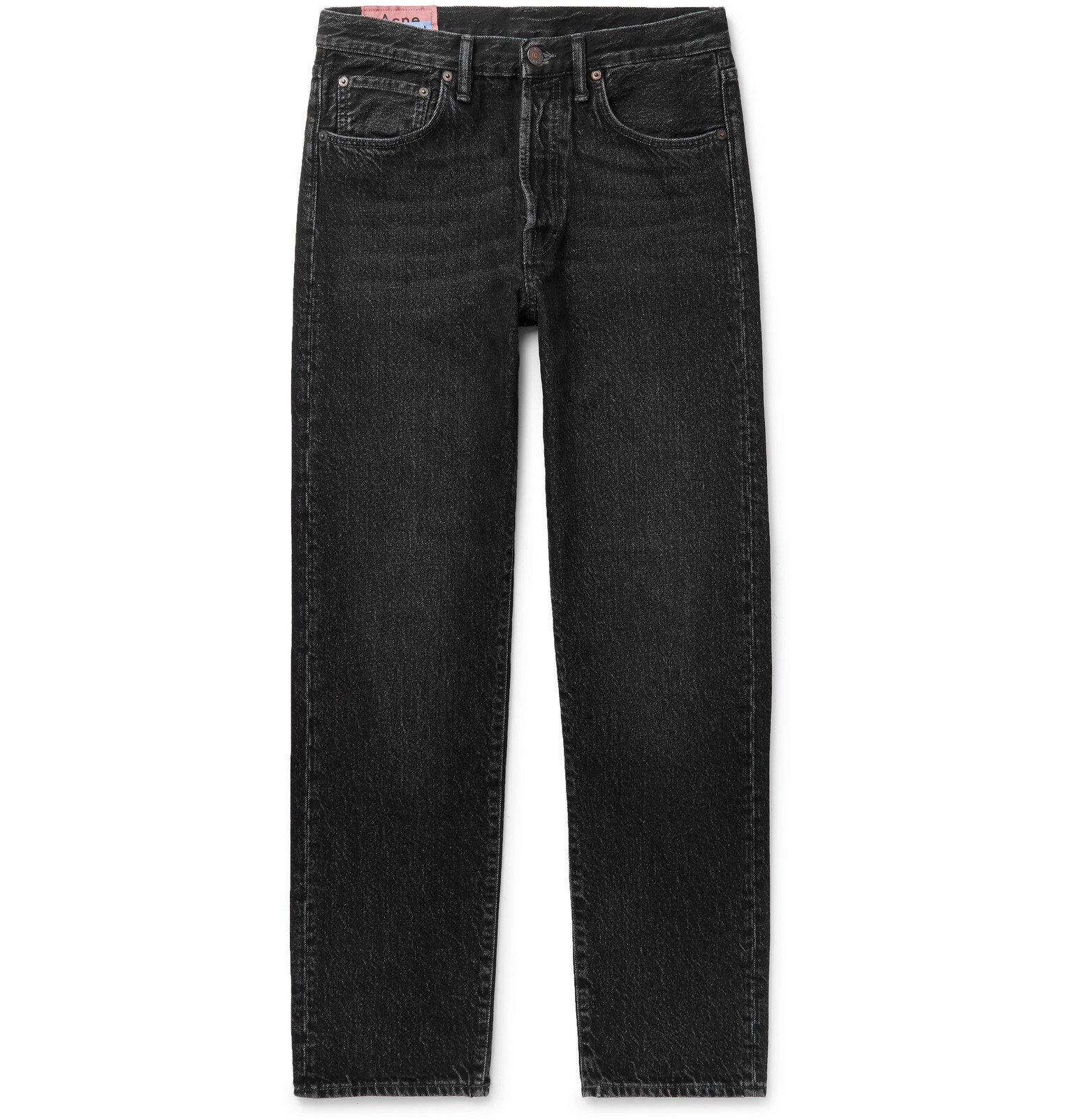 Photo: Acne Studios - 1996 Washed-Denim Jeans - Black