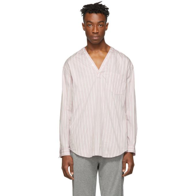 3.1 Phillip Lim Pink V-Neck Shirt