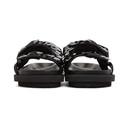 Sacai Black Spangle Sandals