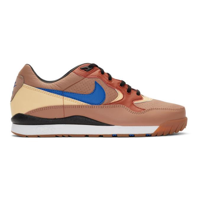 Photo: Nike ACG Taupe Air Wildwood Sneakers