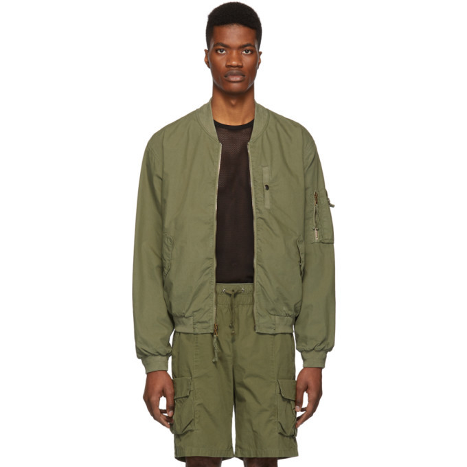 Photo: John Elliott Green Military Field Jacket