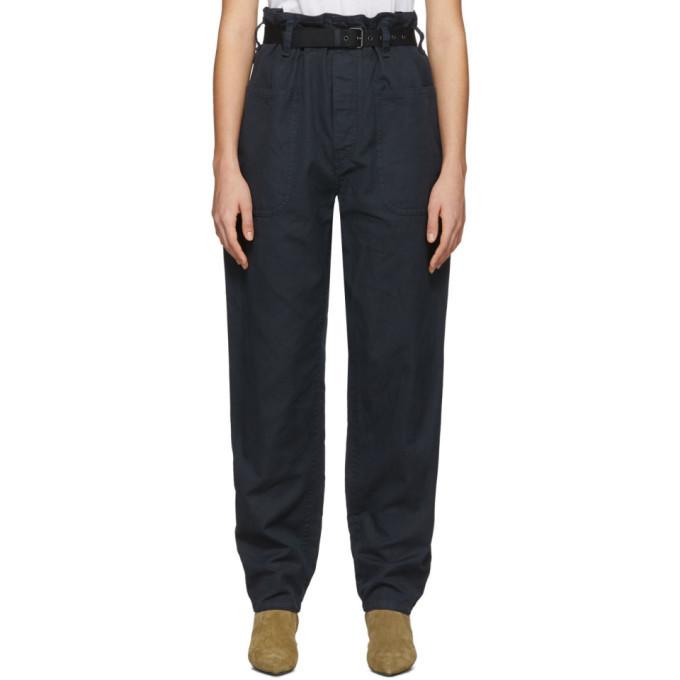 Photo: Isabel Marant Etoile Black Rinny Trousers