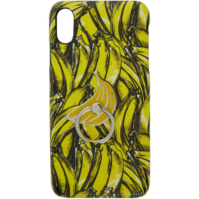 Photo: Prada Yellow Banana iPhone XS Case