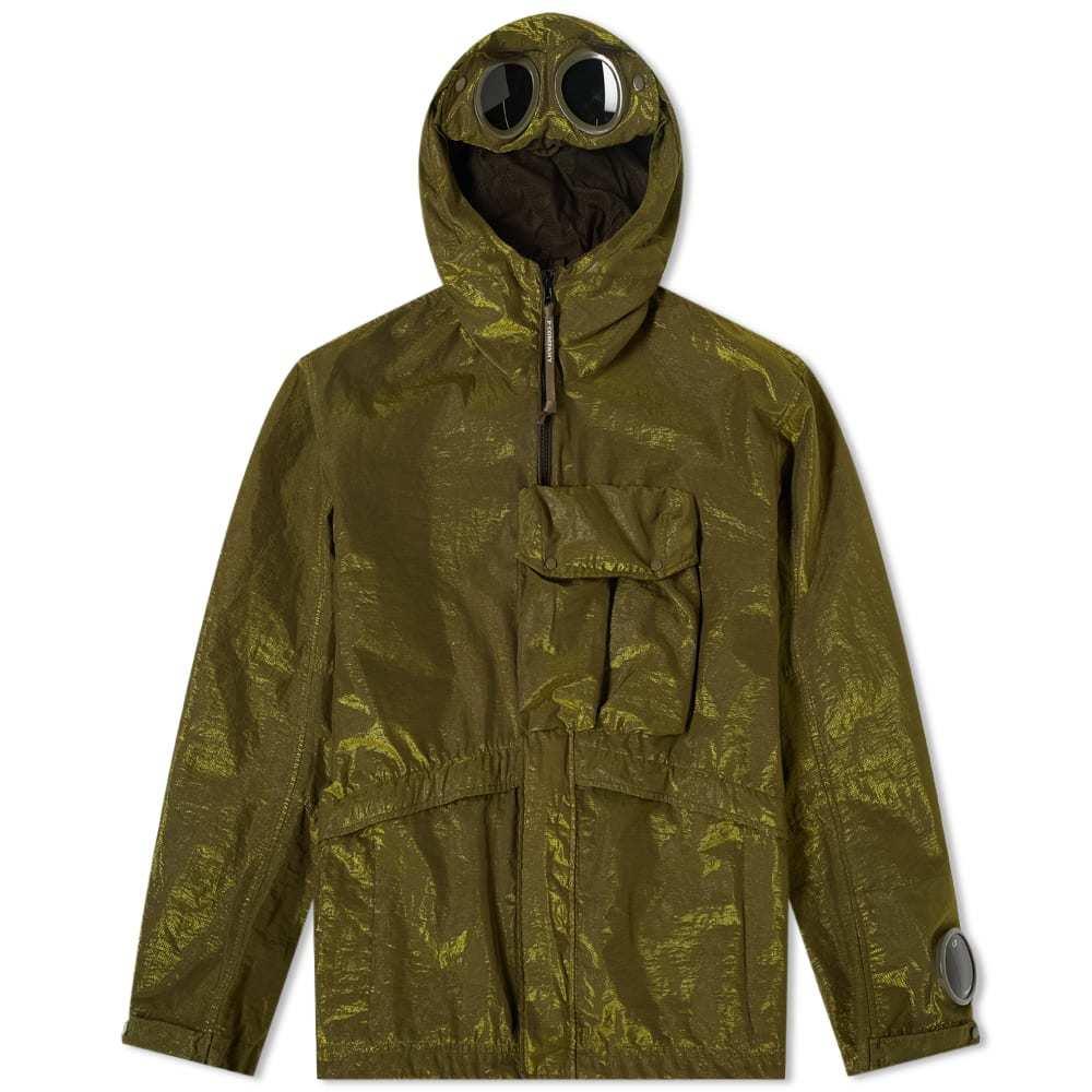 C.P. Company P.Ri.S.M Garment Dyed Goggle Jacket