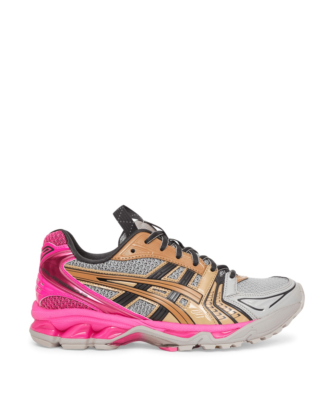 Photo: Asics Ub1 S Gel Kayano 14 Sneakers Oyster Grey/Pink Glo