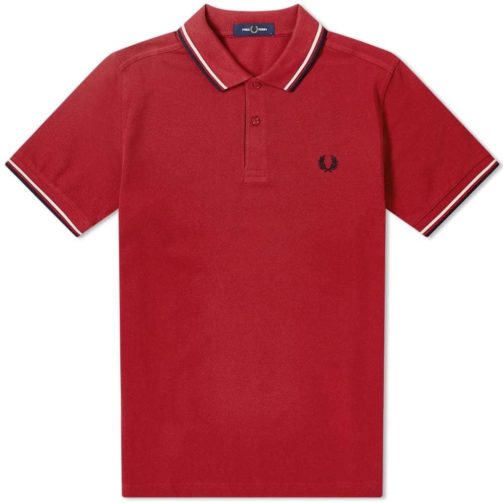Photo: Fred Perry Authentic Slim Fit Twin Tipped Polo