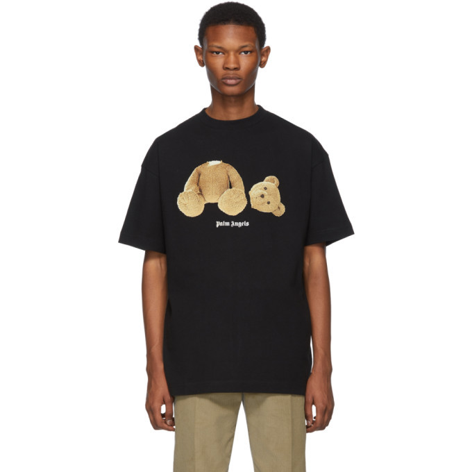 Palm Angels Black Kill The Bear T-Shirt