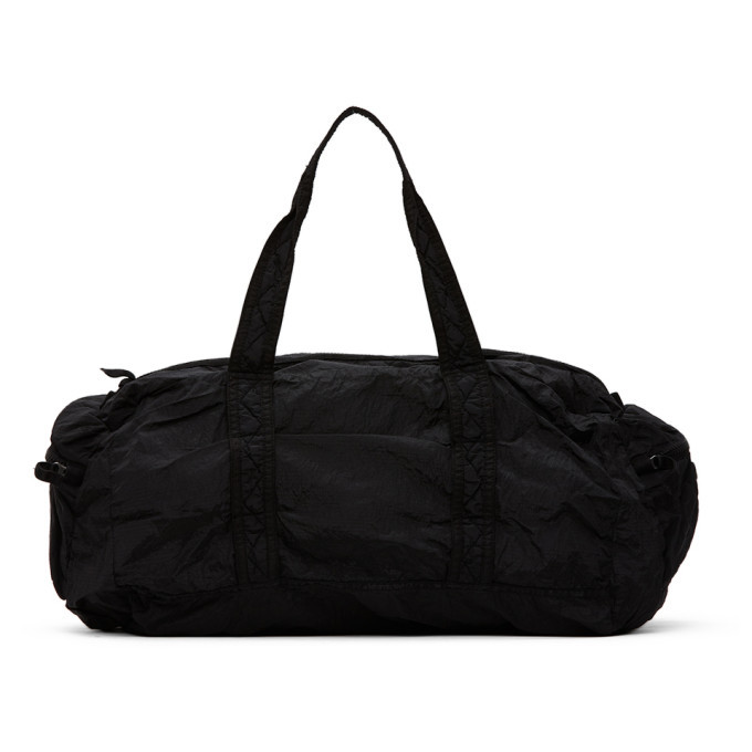 Photo: Stone Island Black Nylon Duffle Bag