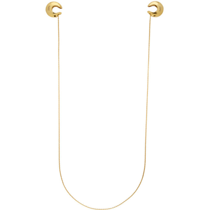 Photo: GmbH Gold Chain Ear Cuffs
