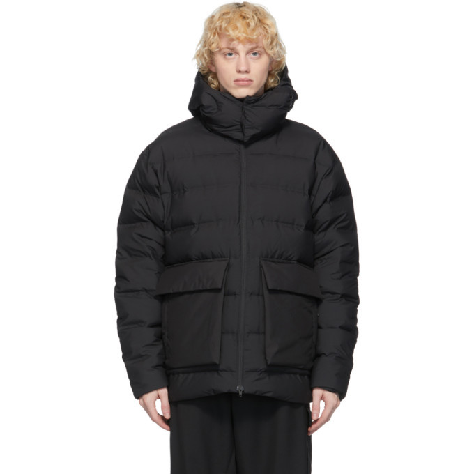 Photo: Y-3 Black Down Classic Puffy Jacket