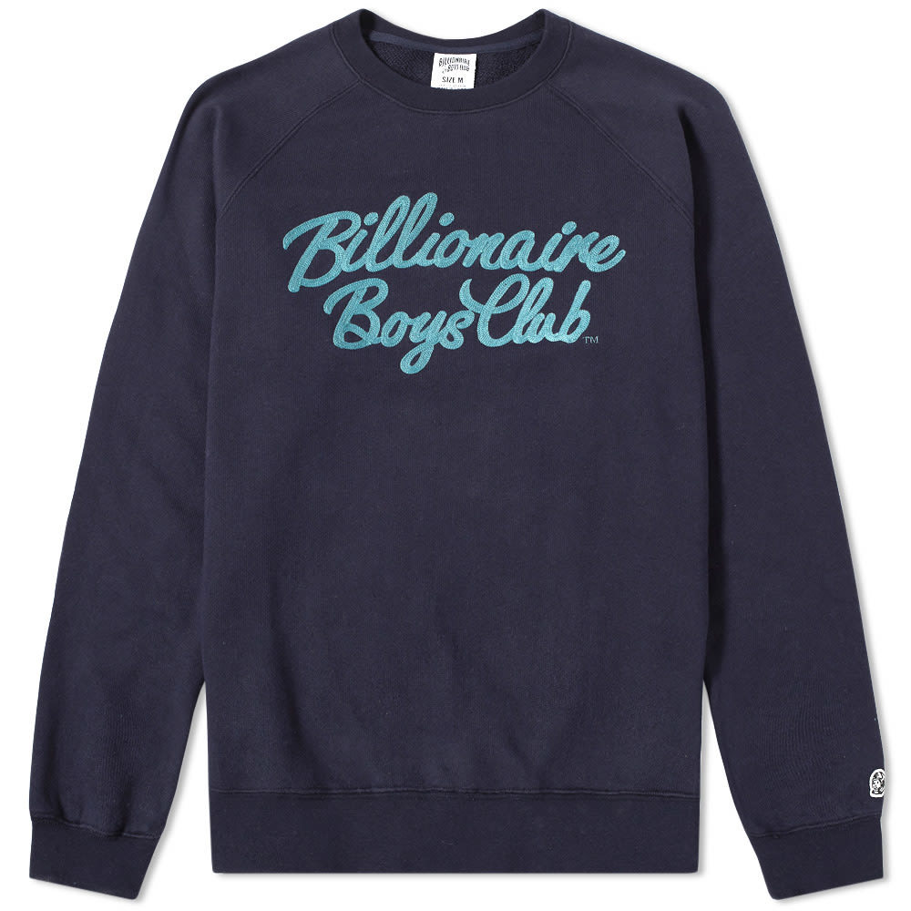 Photo: Billionaire Boys Club Script Crew Sweat