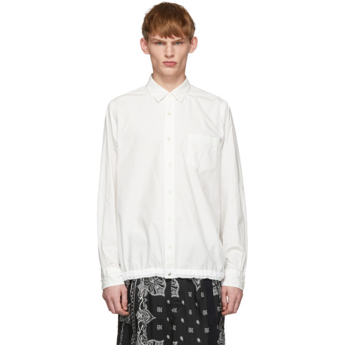 Photo: Sacai White Dr.Woo Typewriter Shirt
