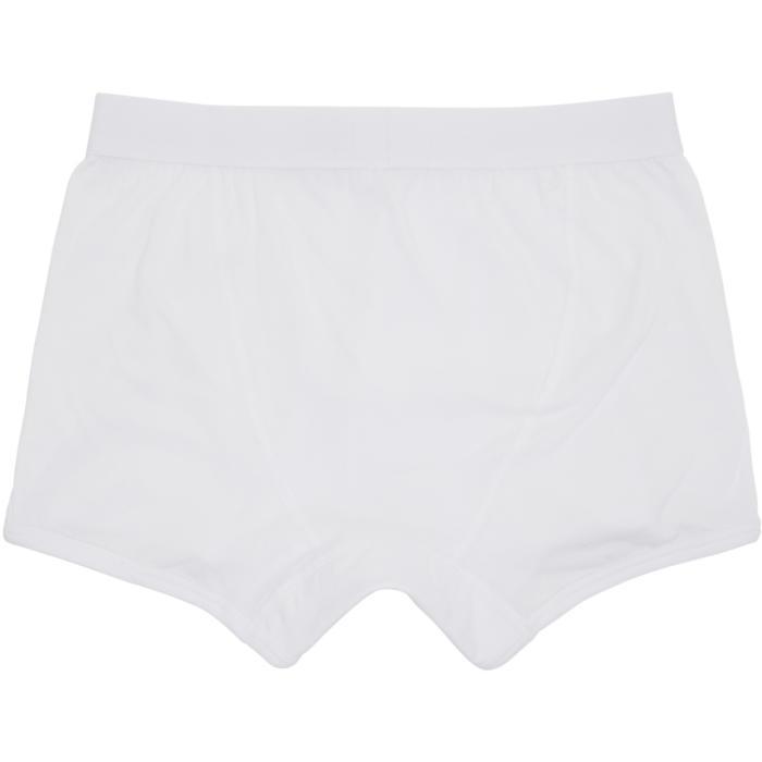 Photo: Comme des Garçons Shirt White Plain Boxer Briefs
