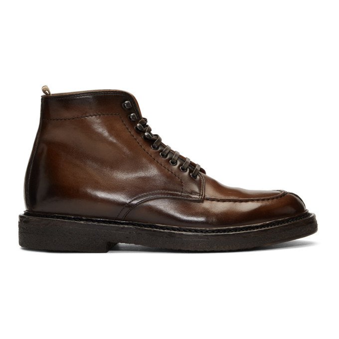 Photo: Officine Creative Brown Stanford 207 Boots