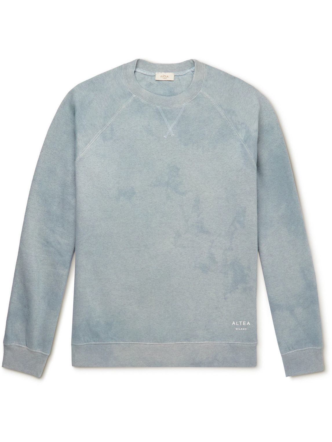Photo: Altea - Cotton-Jersey Sweatshirt - Blue
