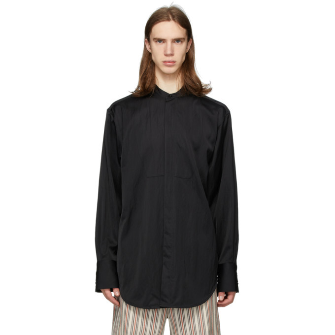 Photo: Jil Sander Black Achilles Shirt