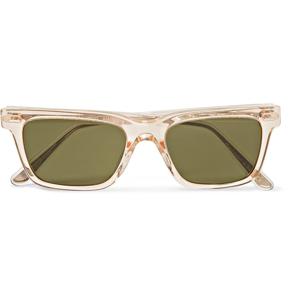 Photo: The Row - Oliver Peoples BA CC Square-Frame Acetate Sunglasses - Clear