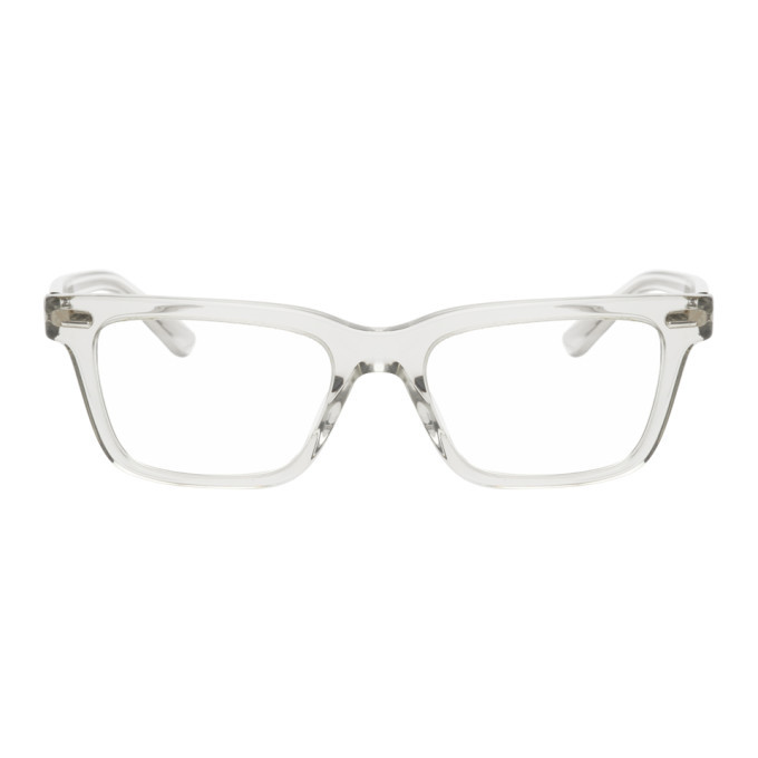 Photo: The Row Transparent Square Glasses