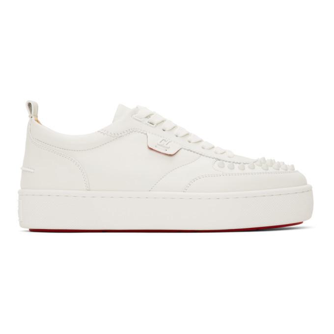 Photo: Christian Louboutin White Happyrui Sneakers