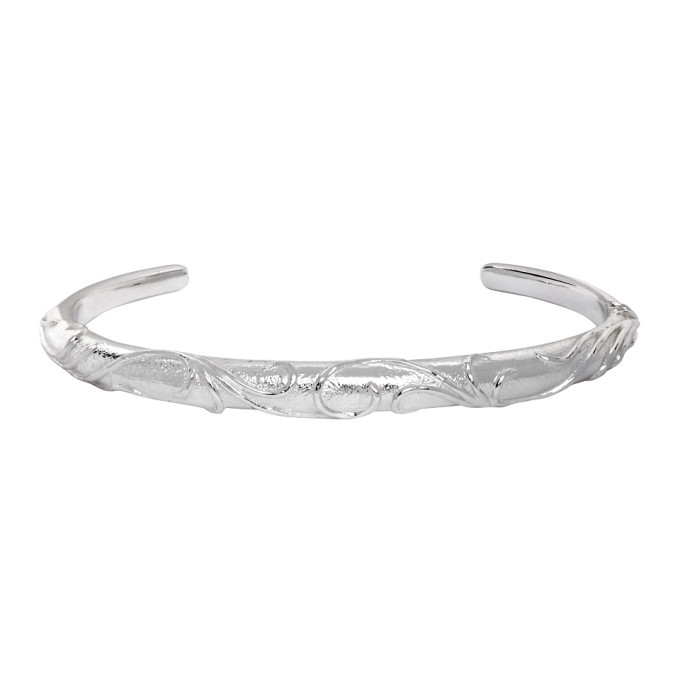 Photo: Dear Letterman Silver Aqal Bangle Bracelet