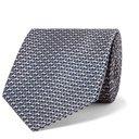 Giorgio Armani - 8cm Silk-Jacquard Tie - Men - Anthracite
