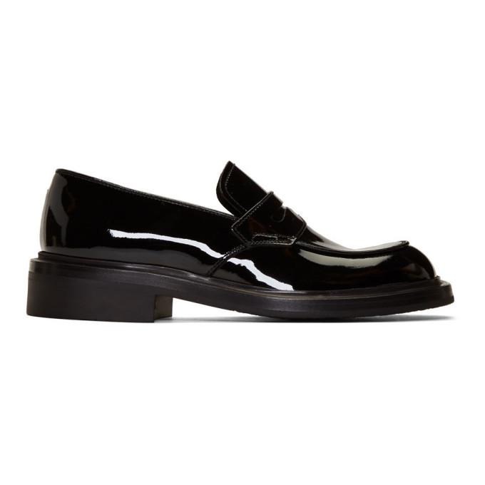 Photo: Prada Black Patent Penny Loafers