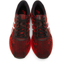 Asics Black and Red GEL-DS Trainer 25 Sneakers