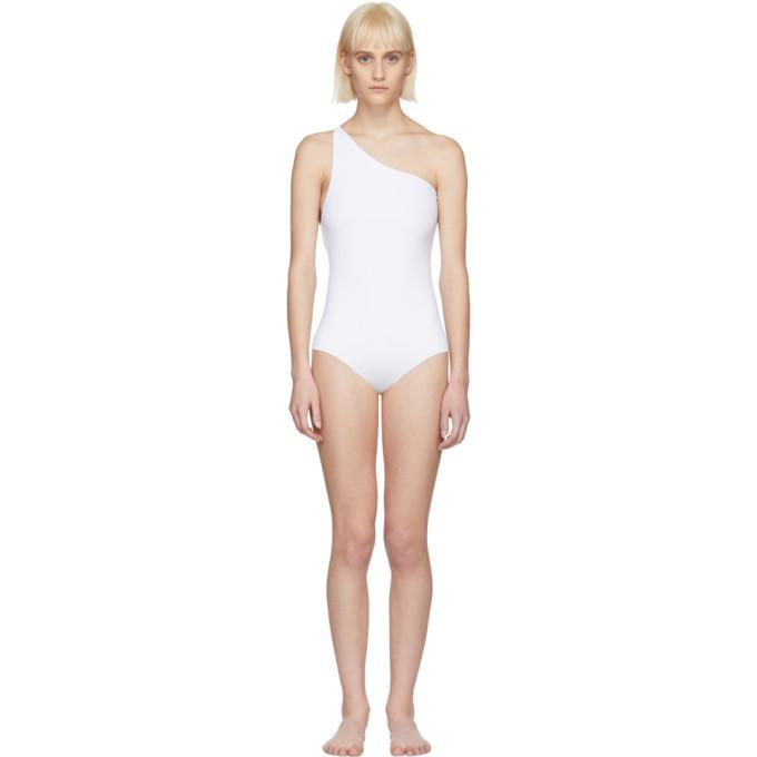 Alyx White Olympia Swimsuit