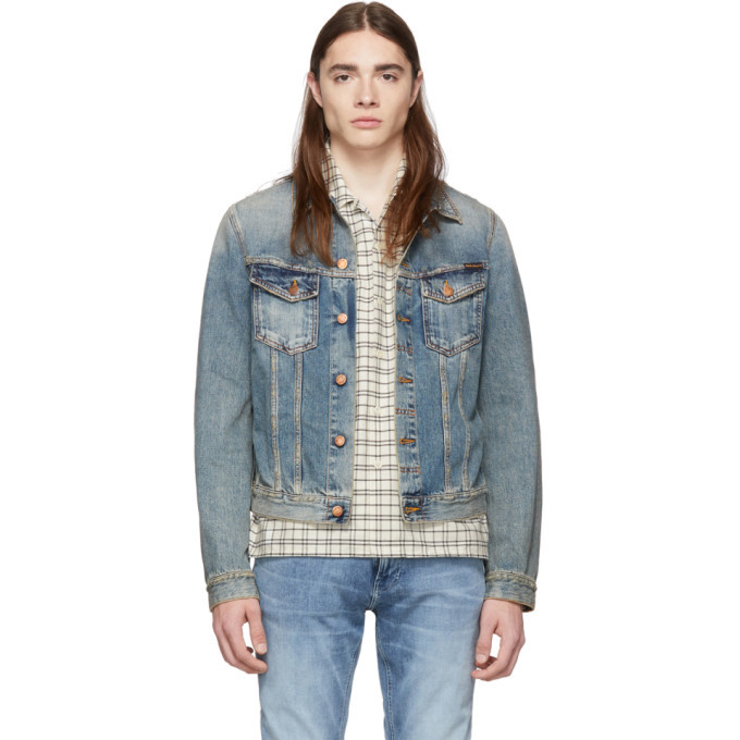 Photo: Nudie Jeans Indigo Billy Denim Jacket