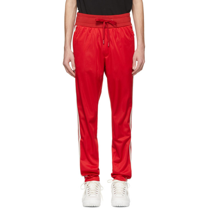 Photo: Dolce and Gabbana Red Crown Lounge Pants