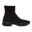 Alyx Black Knit Hiking Boot High-Top Sneakers