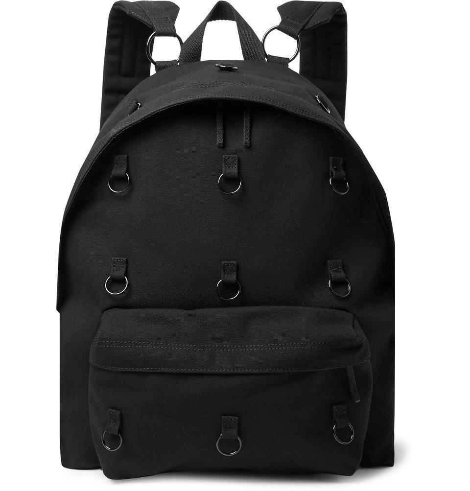 Raf Simons - Eastpak Padded Pak'r Embellished Canvas Backpack - Black