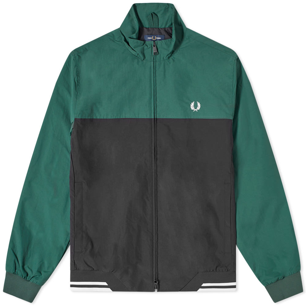 Photo: Fred Perry Authentic Colour Block Brentham Jacket