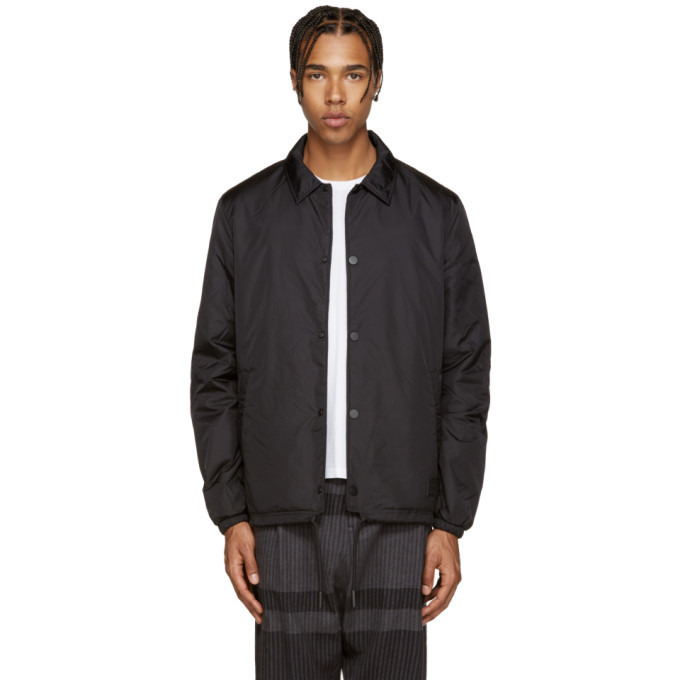 Photo: Acne Studios Black Insulated Tony Face Jacket