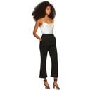 3.1 Phillip Lim Black Slit Tailored Trousers